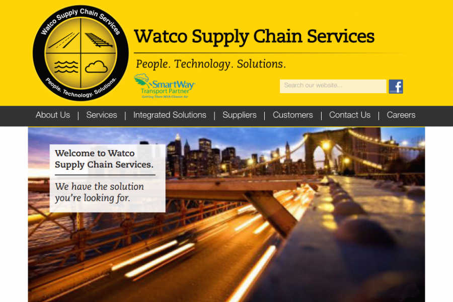 Watco Supply Chain Services Website